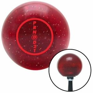 Red 3 Speed Overdrive Red Metal Flake Shift Knob Usa Shifter Auto Trans Jdm Race