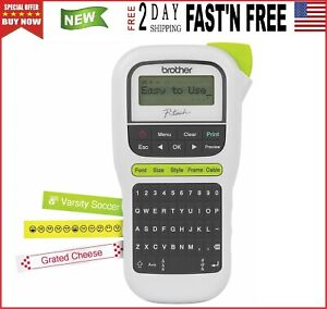 Brother P touch Handy Label Maker pth110 Labeler Home Office Diy Portable
