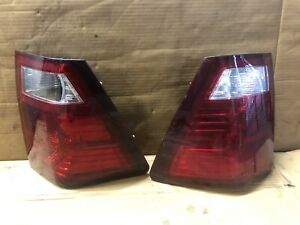 2 Rear Brake Tail Lights For 2007 2010 Jeep Grand Cherokee Left Right Sides