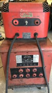 Vintage Mid states Bulldog 175 Ac Arc Welder W Missing Link High Frequency Unit