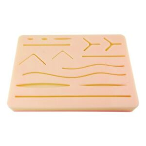 Skin Suture Model Silicone Anatomy Model With Wound Shape Surgery Practice Tools