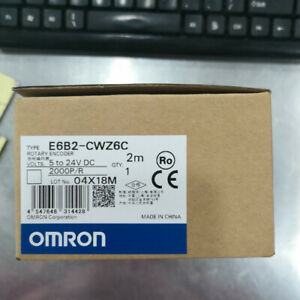 For Omron Rotary Encoder E6b2 cwz6c Incremental Interrupter 2000 P R 5 24 V