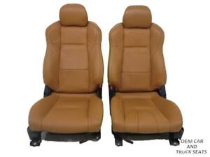 Nissan 350z Burnt Orange Leather Front Seats 2003 2004 2005 2006 2007 2008 2009