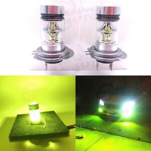 H7 Led Headlights Bulbs Set High Low Beam 35w 4000lm 6000k White Error Free