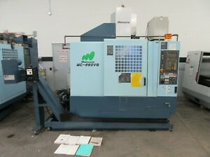 Matsuura Mc 660vg Cnc Vertical Machining Center