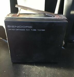 Sencore Cr143 Tube Tester Crt Cathode Ray
