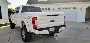 Ford F250 Hard Bed Cover Painted Ftx Fiberglass Tonneau