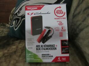 Schumacher Jump Starter Power Pack Kit brand New Sealed 15 Jumps On One Charg