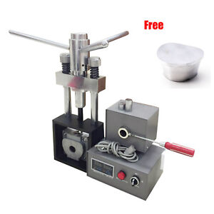 Dental Flexible Denture Injection Partial Machine Heater Press Duplicating Flask