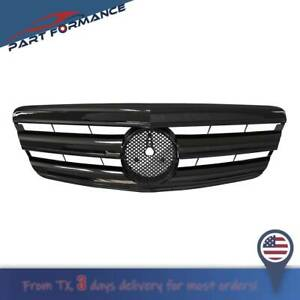 All Black Amg Style Front Grilles For Mercedes Benz S Class W221 2006 2009