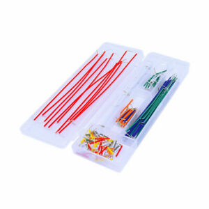 140pcs Keyes Breadboard Circuit Jumper Cables Wires Set Kit Box Diy For Arduino