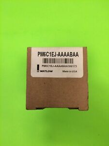 Watlow Temperature Controller Pm6c1ej aaaabaa New In Box made In Usa 100 240v