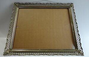 Vintage Wire Boarder Picture Frame Metal Fits 8 X10