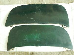 1949 1950 1951 Mercury Fender Skirts Flat Flush Style 50 51 49 Pair