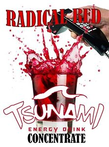Tsuanmi Energy Drink Bag In Box 5 1 Concentrate Use With Bar Guns Soda Disp