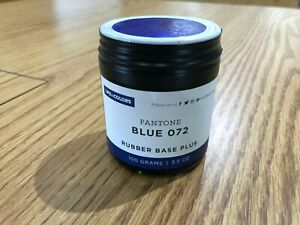 Pantone Blue 072 Rubber Base Plus Ink For Letterpress Printing Press 3 5oz 100gr