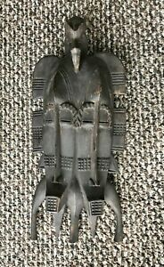 Senufo Mask Double Sided Hand Carved Wood