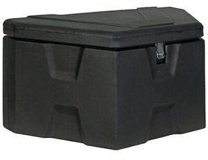 Buyers Products 1701680 18x19x36 Black Poly Trailer Tongue Box