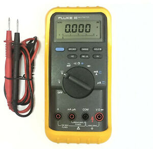 Fluke 85 True Rms Multimeter With Test Leads
