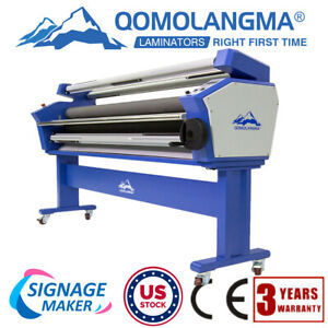 Us Stock 63 Full auto Cold Laminator Heat Assisted Large Format Lamination New