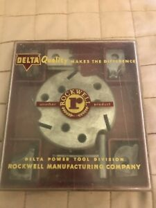 Delta Moulding Cutter Head 5 Cutter Set