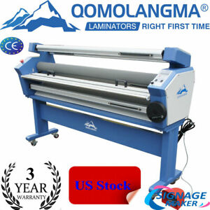 Usa 55 1400mm Full auto Cold Laminator Heat Assisted Large Format Lamination