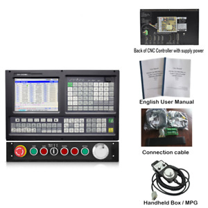 New Panel 4 Axis Cnc Controller For Milling router Machine With G Code usb