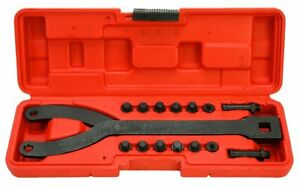 Variable Pin Spanner Adjustable Wrench Hand Tool Set Pulley Puller Remover Kits