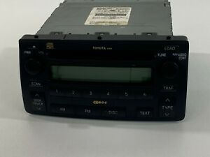 04 08 Toyota Corolla Matrix 6 Disc Cd Player A51814 Changer Radio 86120 02440