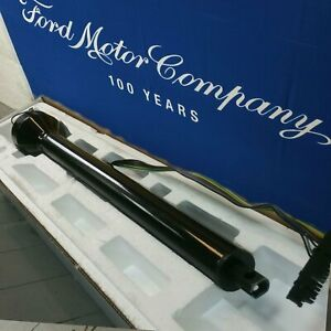 1986 1993 Ford Mustang Polished Black Steering Column No Key Col Auto Roadster