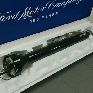 1941 1959 Ford Truck Polished Black Steering Column No Key Col Trans New