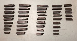 41 Ammco Brake Lathe Tool Bits Assorted Length And Sizes Free Shipping