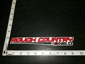 Rough Country N2 0 Decal Sticker