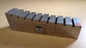 Unbranded Calibration Machining Gauge Block 10 Size G 18010 61 G block 4g