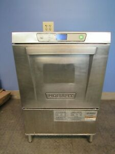 Hobart Lxeh Dishwasher High Temperature Commercial Free Shipping