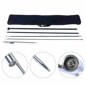 4 Pcs Hq Windless Pole ground Spike Set Swooper Banner Feather carrying Bag Us