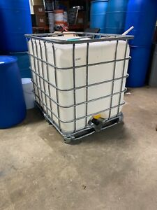 275 Gallon Ibc Tote Liquid Storage Tank Bulk Container local Pickup Only