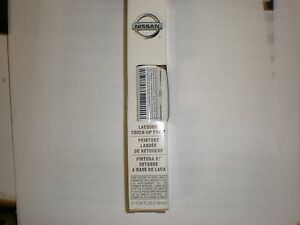 Nissan Moonlight White Qaa Touch Up Paint Clear Coat Pen Oem New