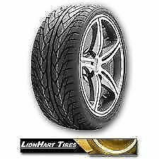 2 New 285 30r20 Lionhart Tires 285 30 20 Lh three Tire 285 30 20 Mustang Cls R20