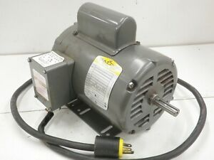 Baldor 1 Hp 1725 Rpm Single Phase Motor