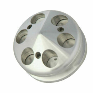 Spectre 4528 Aluminum Alternator Pulley Single Groove Gm ford Each