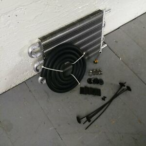 1958 67 Volkswagen Beetle Type 1 Vw 6 Row 13 Transmission Trans Oil Cooler Ghia