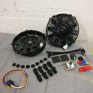 1958 Chevy Impala 1248 Cfm 12 Radiator Cooling Fan Temp Switch Kit 348 Gm Ls V8