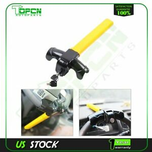Anti Theft Security Rotary Steering Wheel Lock Top Mount For Suv Auto Car New