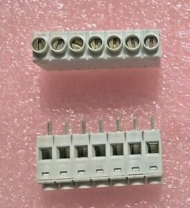 300 Pcs Of Camden 0 2 7 Positions Breakable Pcb Mounted Terminal Blocks Nos