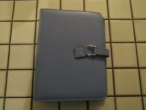 Franklin Covey Classic 365 Planner 7 Ring Binder Blue