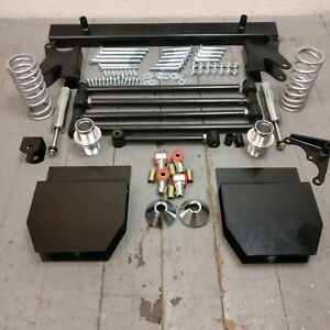 1967 1972 Ford F series Truck Deluxe Parallel 4 link Kit W 250lbs Rear Coilover
