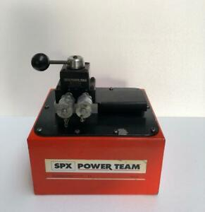 Spx Power Team Pa6dm 2 Hydraulic Air Pump For Double Acting Cylinder 700 Bar