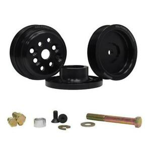 Krc 36400000 Serpentine Pulley Kit Sb Chevy