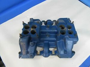 1955 Cadillac Intake Manifold 2 X 4 1463205 Dual Quad Two Four Barrel Eldorado